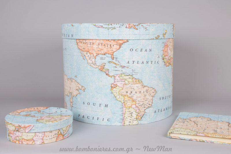 Αφήστε τους καλεσμένους να σας ταξιδέψουν με τις ευχές τους. Παγκόσμιος Χάρτης για το βιβλίο ευχών της βάπτισης ή του γάμου.