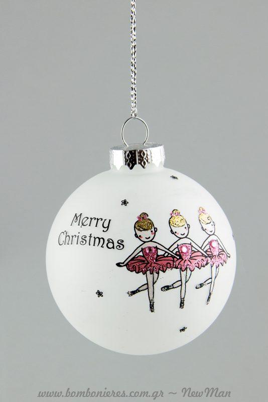 Merry Christmas με μπαλαρίνες (380394).