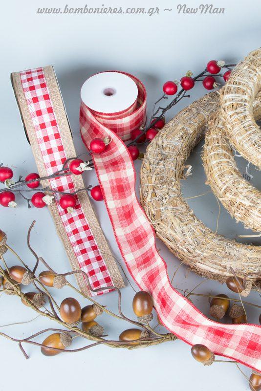 Φέτος τα Χριστούγεννα φτιάξτε τα δικά σας εορταστικά στεφάνια κι εντυπωσιάστε με την DIY διακοσμητική πινελιά σας.