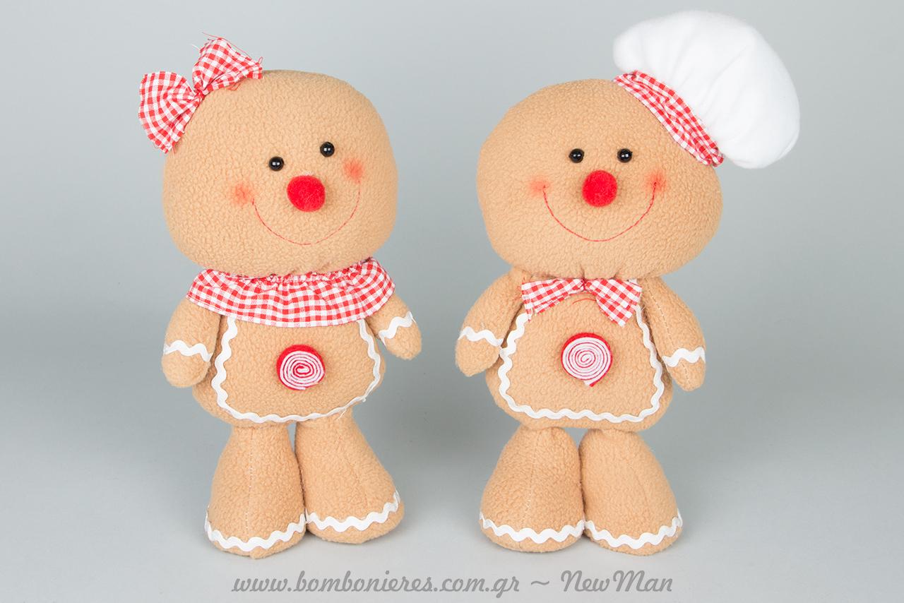 Μπισκότα Gingerman με σκούφο ή χωρίς γι' ατελείωτες περιπέτειες κι αγκαλιές.