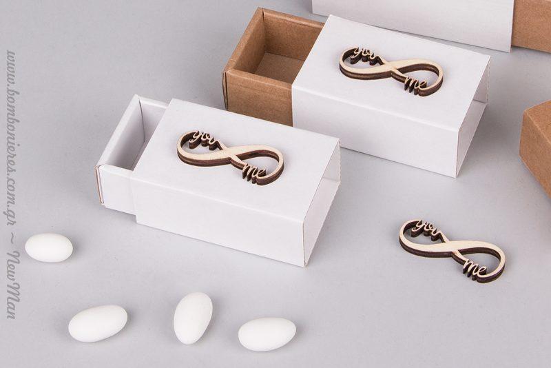 Παίξτε με τη σύνθεση των κουτιών, δημιουργώντας διχρωμίες κι ένα παιχνιδιάρικο αποτέλεσμα.