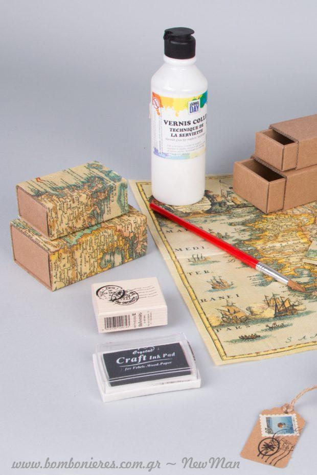 Ταχυδρομικές σφραγίδες, ετικέτες και γραμματόσημα, οι λεπτομέρειες που θα κάνουν τη διαφορά.