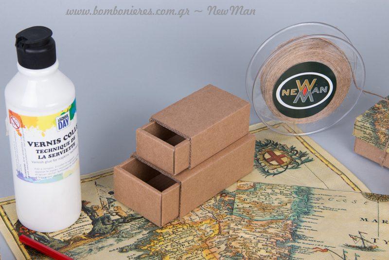 Kraft οικολογικό κουτί (σπιρτόκουτο), παραγωγής Νewman.