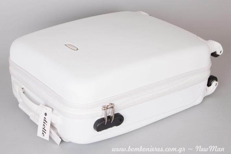Βαπτιστικές βαλίτσες Dielle σε μέγεθος καμπίνας (35 x 54 x 18cm).