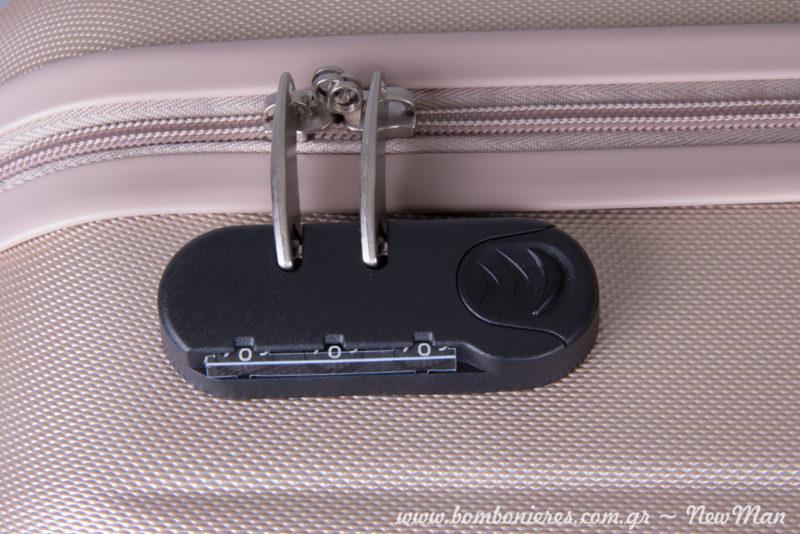 Κλειδαριά ασφαλείας με κωδικό που ρυθμίζετε εσείς.