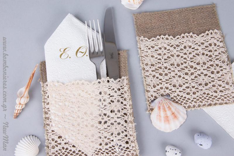DIY γαμήλιος στολισμός για το τραπέζι της δεξίωσης.