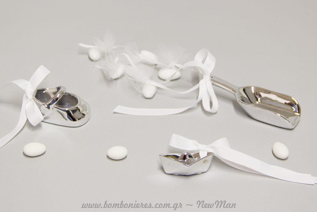 Μια μίνιμαλ επιλογή για την μπομπονιέρα του γάμου ή της βάπτισης που όμως θα κλέψει τις εντυπώσεις.