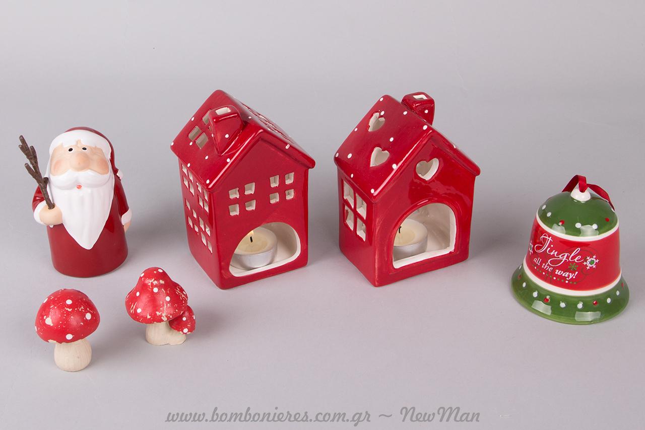 Κόκκινο, το χρώμα της αγάπης, κόκκινο το πρωταγωνιστικό χρώμα των Χριστουγέννων (διακοσμητικές προτάσεις).
