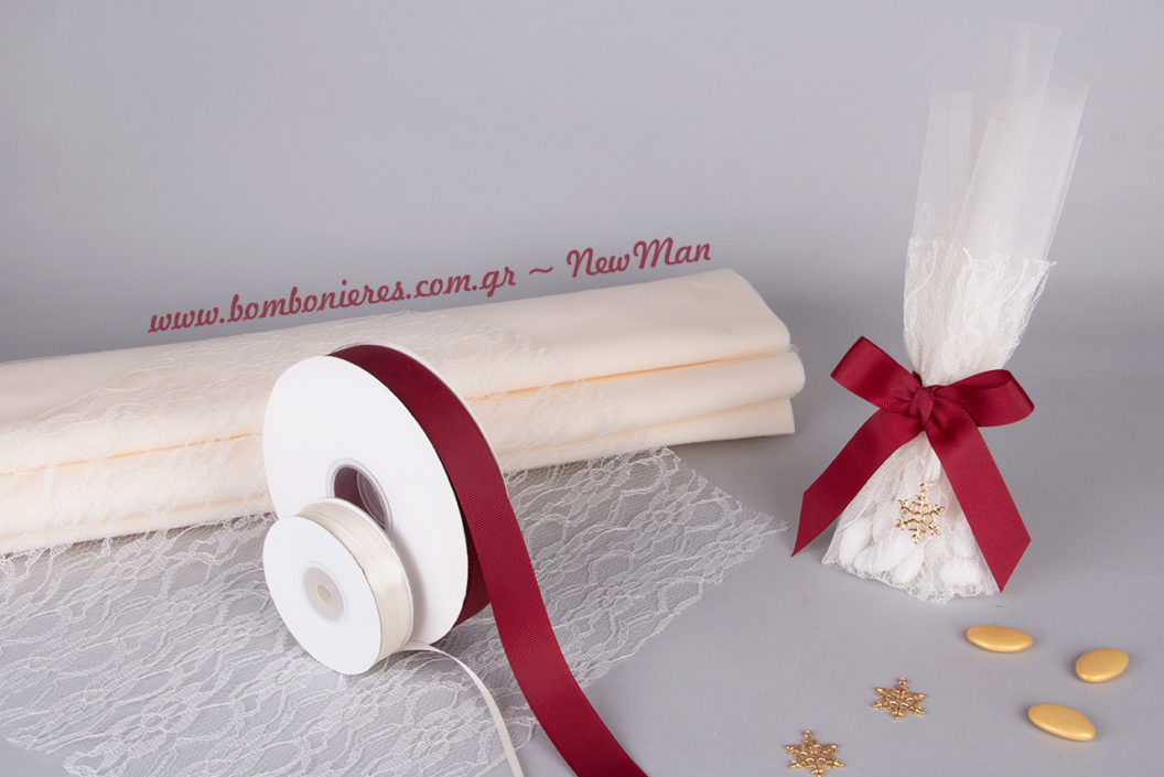 Δημιουργήστε μια ξεχωριστή χειμωνιάτικη μπομπονιέρα χρησιμοποιώντας διαλεχτά υλικά που θα βρείτε στο κατάστημα Newman, Θησέως 10, Σύνταγμα.
