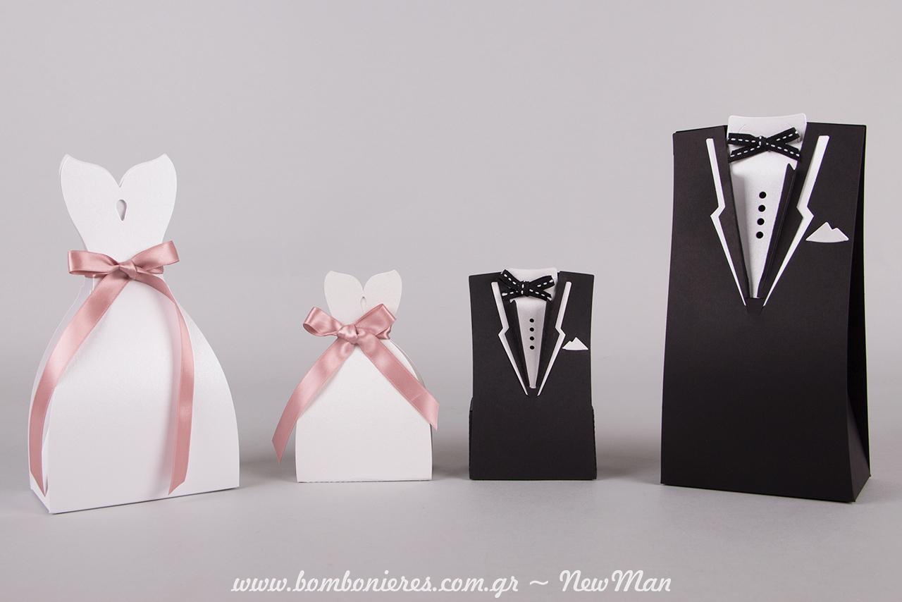 Μια πανέμορφη και σούπερ πρακτική ιδέα για την μπομπονιέρα του γάμου σας, ειδικά σχεδιασμένη από τον Νίκο Newman (Custom made boxes).