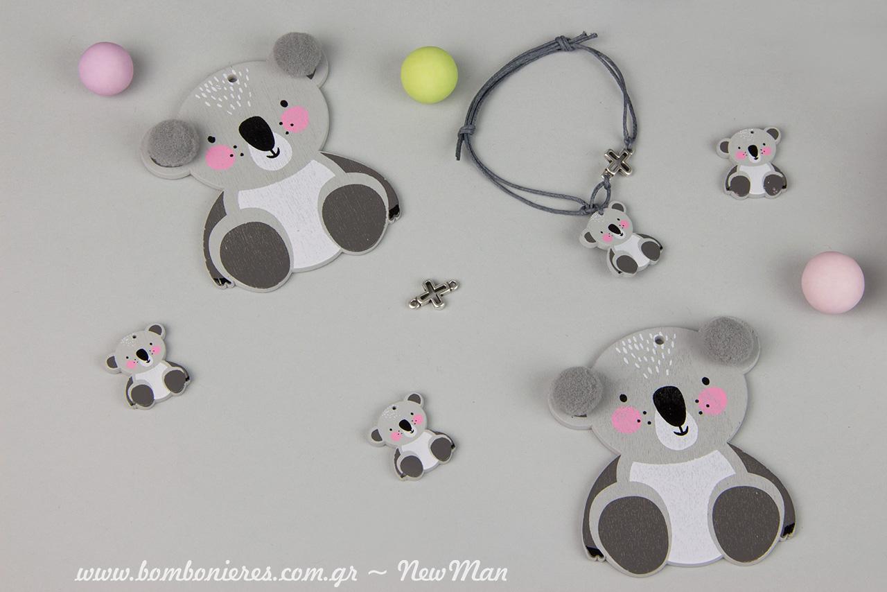 Ta diakosmitika koala (63 x 90mm) diatithentai se syskevasia twn 10 temaxiwn enw ta mikrotera koala (20 x 25mm) se syskevasia twn 25 temaxiwn.